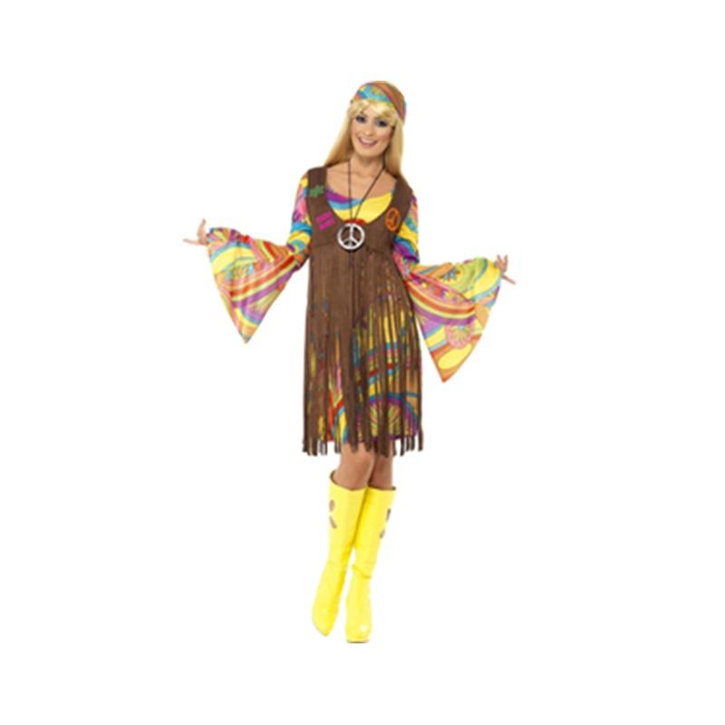 Disfarce de A Anos 60 - Hippie